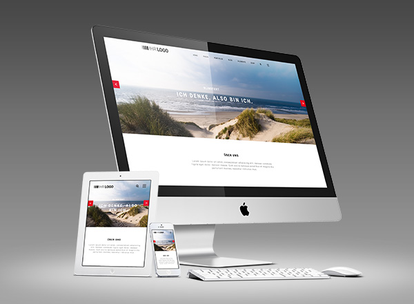 responsive website webdesign entwicklung grafikdesign mobile index first